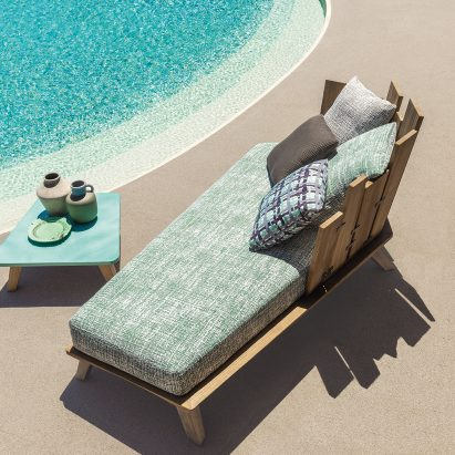 Paola Navone's Rafael outdoor collection is inspired by organic shapes and exotic destinations