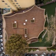 School in Lisbon by ARX Portugal features rooftop playground