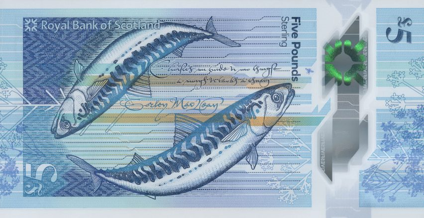 Royal Bank of Scotland's £20 note is designed to celebrate nature and culture