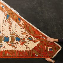 Kourosh Asgar-Irani uses parametric software to distort traditional Persian rug patterns