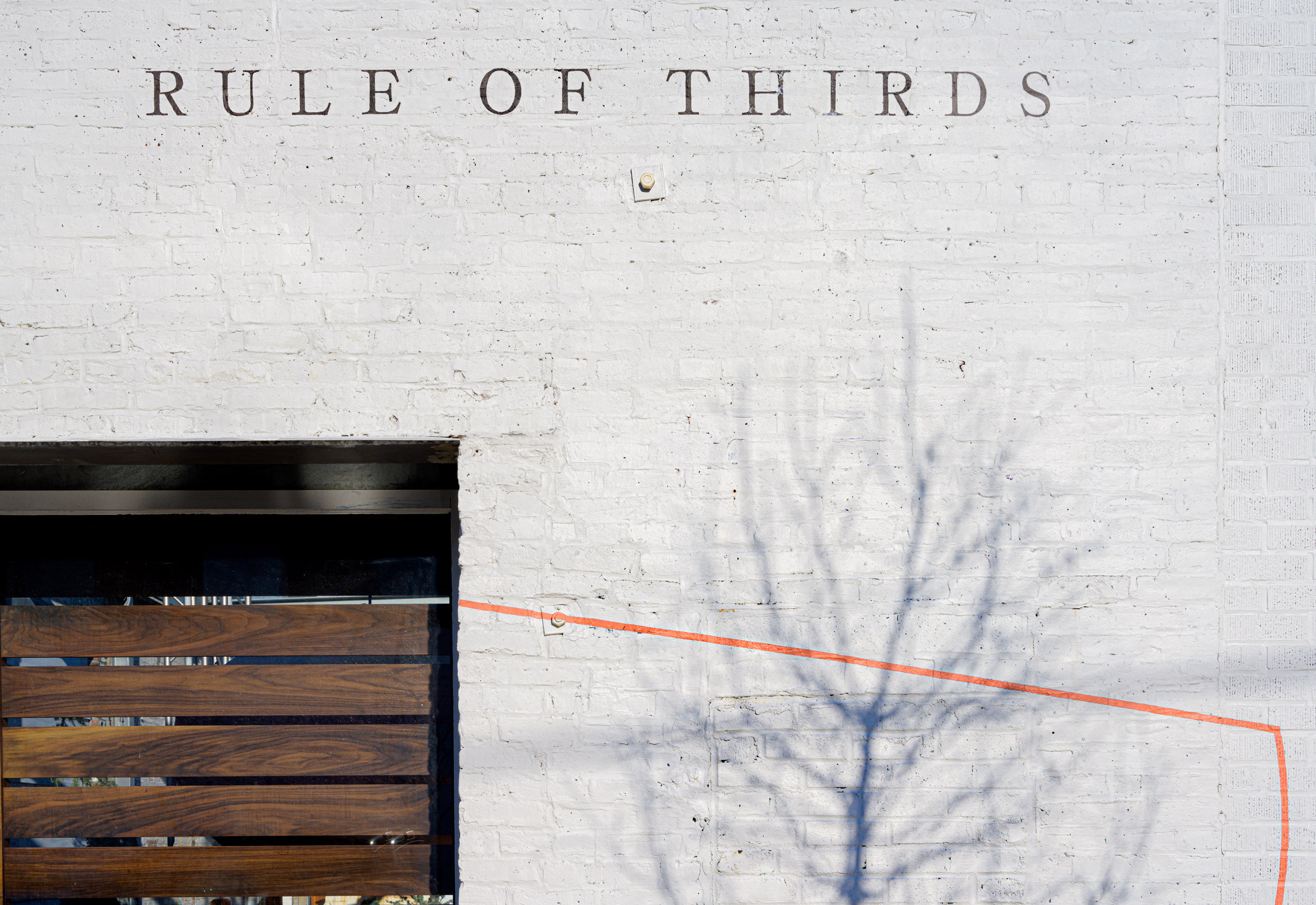 Rule of Thirds at A/D/O
