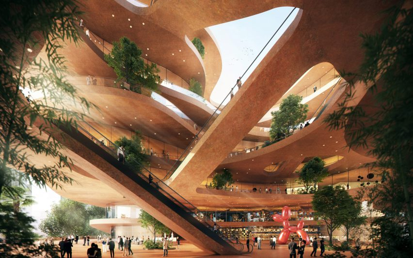 Shenzhen Terraces by MVRDV in Shenzhen, China