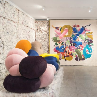 Soft Bodies, Hard Spaces by Misha Kahn at Friedman Benda