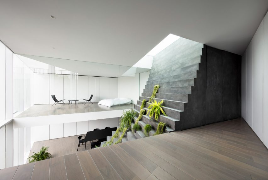 Stairway House by Nendo