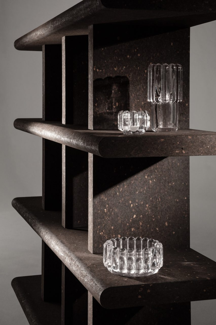 "Tom Dixon designs furniture collection from ""dream material"" cork"
