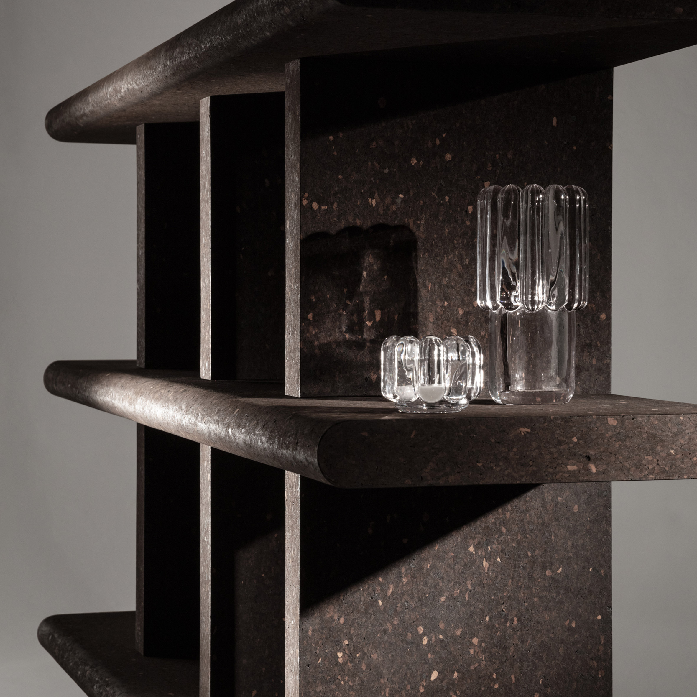 """Tom Dixon designs furniture collection from """"dream material"""" cork"""