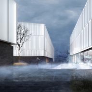 "Henning Larsen designs Norwegian arctic museum as ""cluster of glowing beacons"""