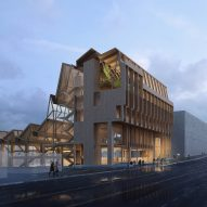 Grafton Architects unveils timber research centre for University of Arkansas