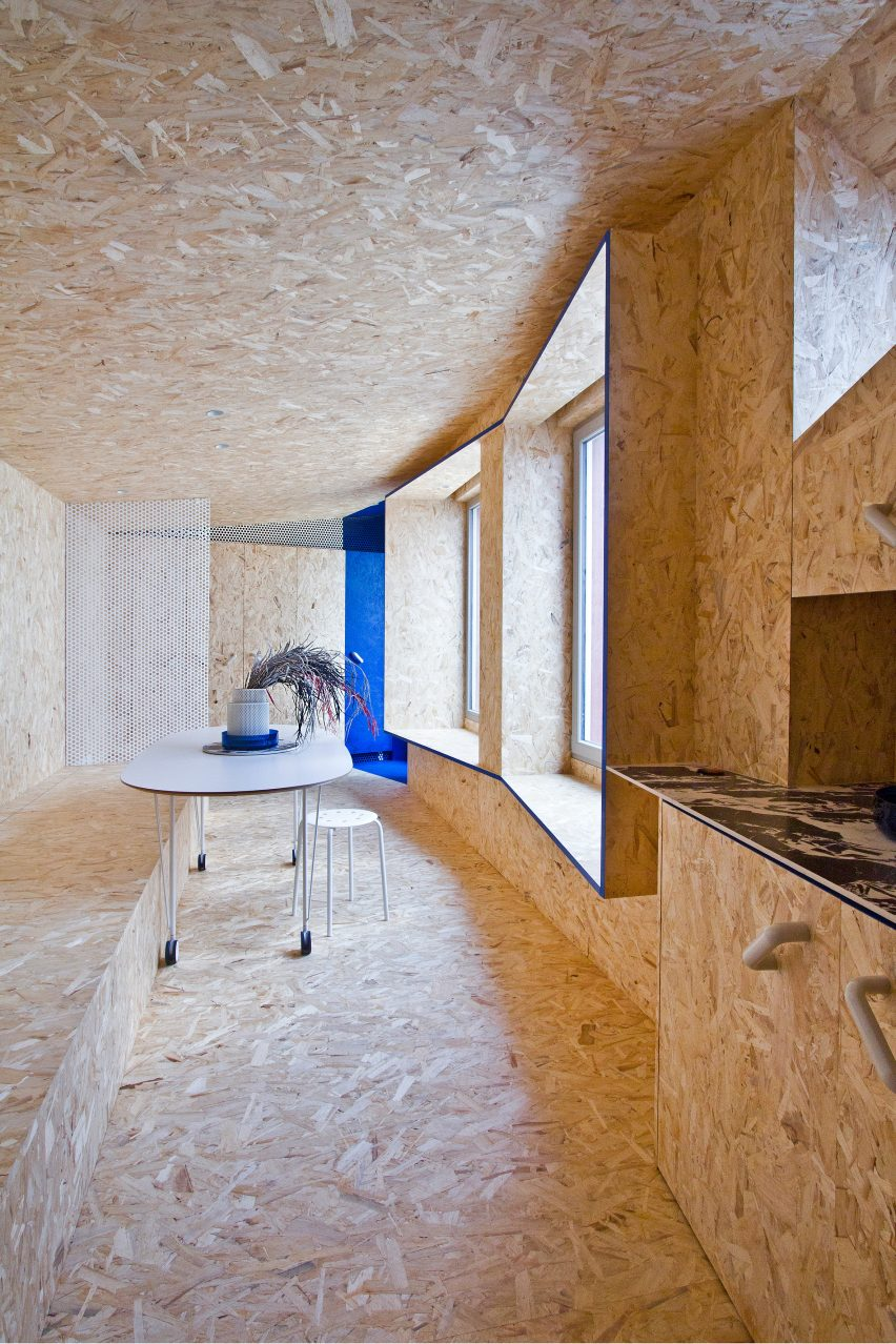 Urban Cabin by Francesca Perani OSB interior