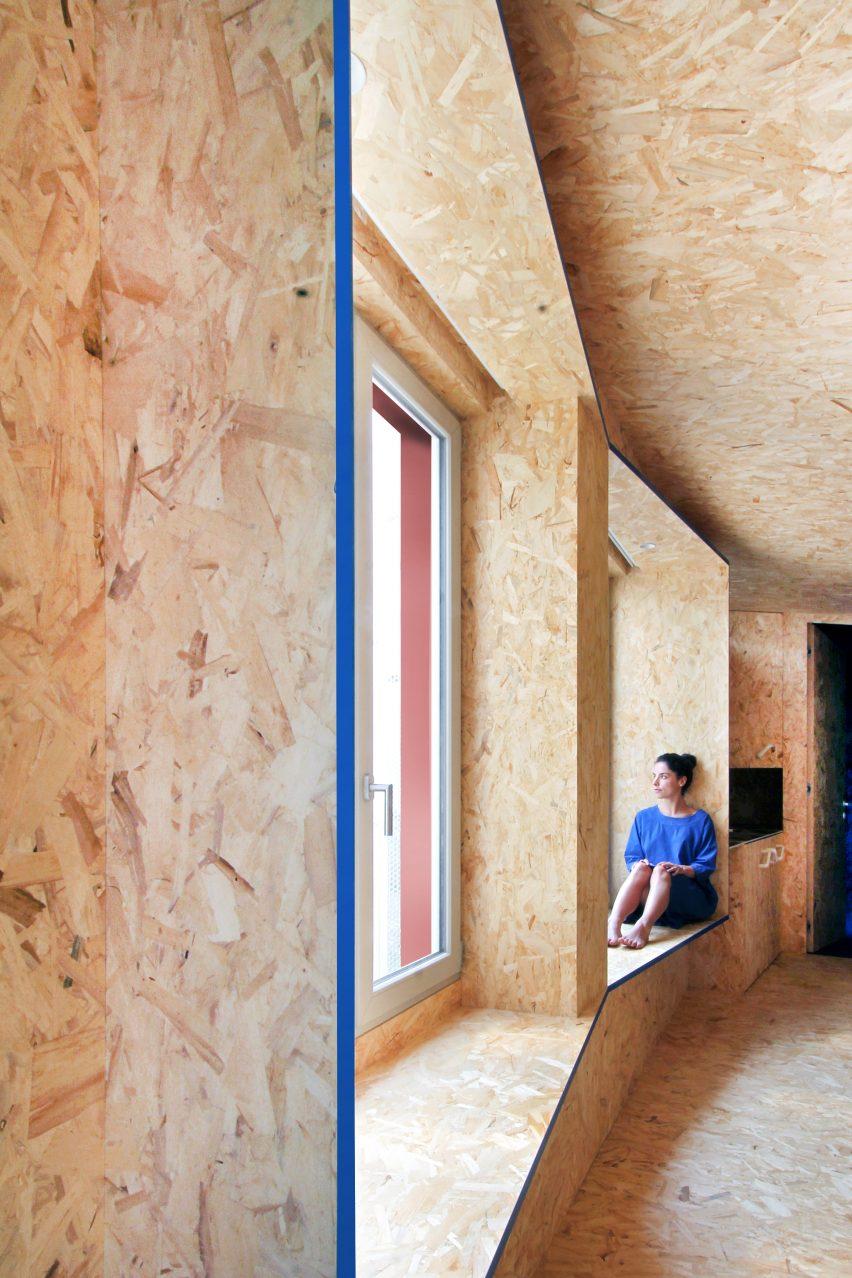 Urban Cabin by Francesca Perani micro apartment