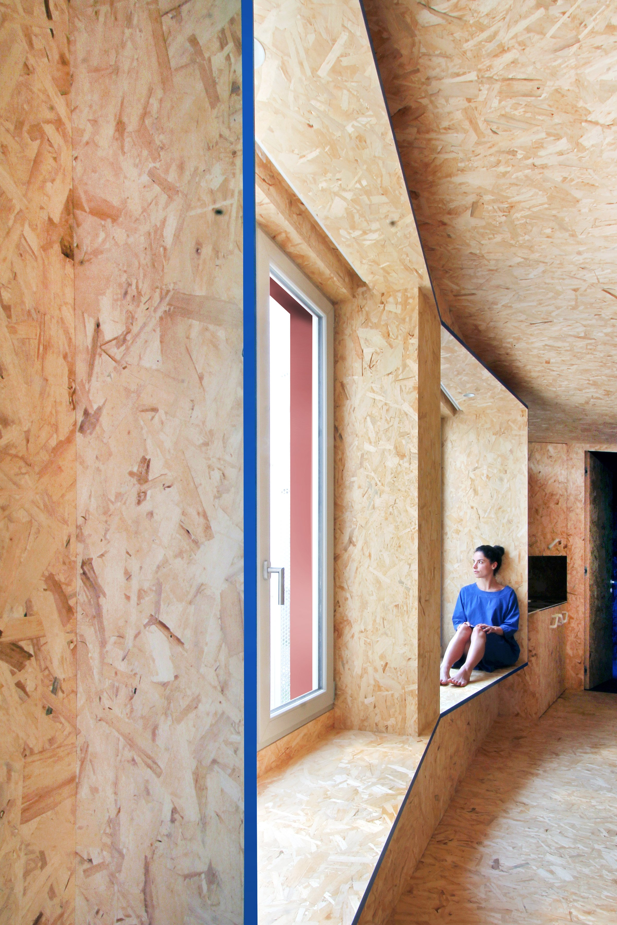 Urban Cabin by Francesca Perani micro apartment