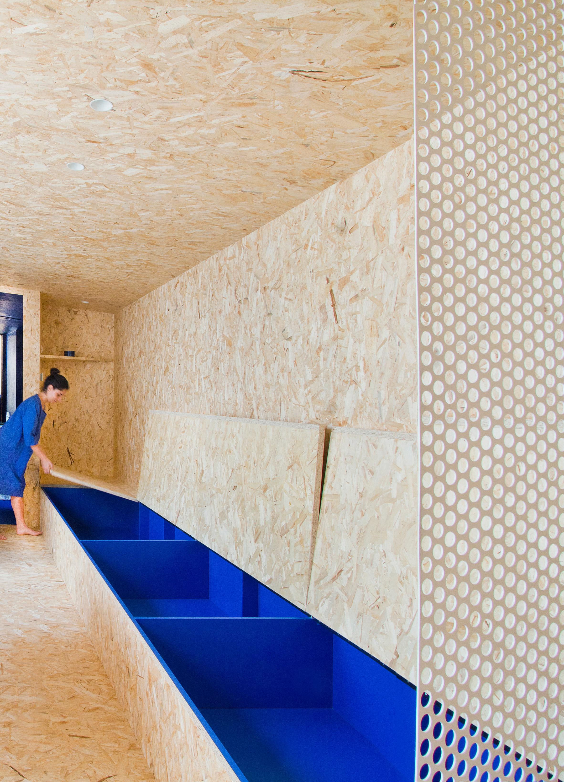 Urban Cabin by Francesca Perani inbuilt storage