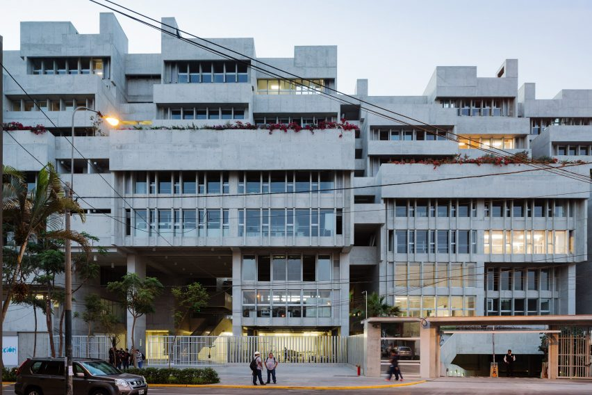UTEC University in Lima, Peru by Grafton Architects