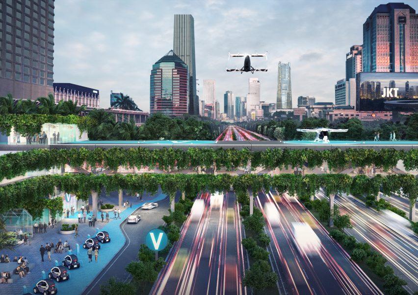 Urban Air Mobility (UAM) City Integration report by MVRDV and Airbus
