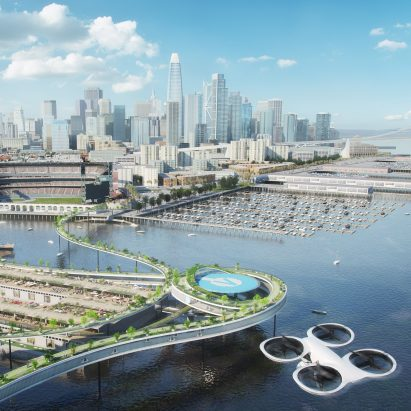 Urban Air Mobility (UAM) City Integration report by MVRDV and Airbus