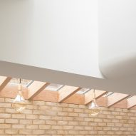 Vestry Road house extension by Oliver Leech Architects skylight
