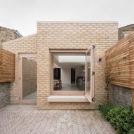 Vestry Road house extension by Oliver Leech Architects exterior