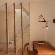 Vestry Road house extension by Oliver Leech Architects staircase