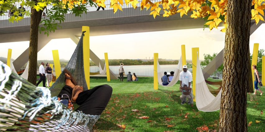 11th Street Bridge Park by OMA