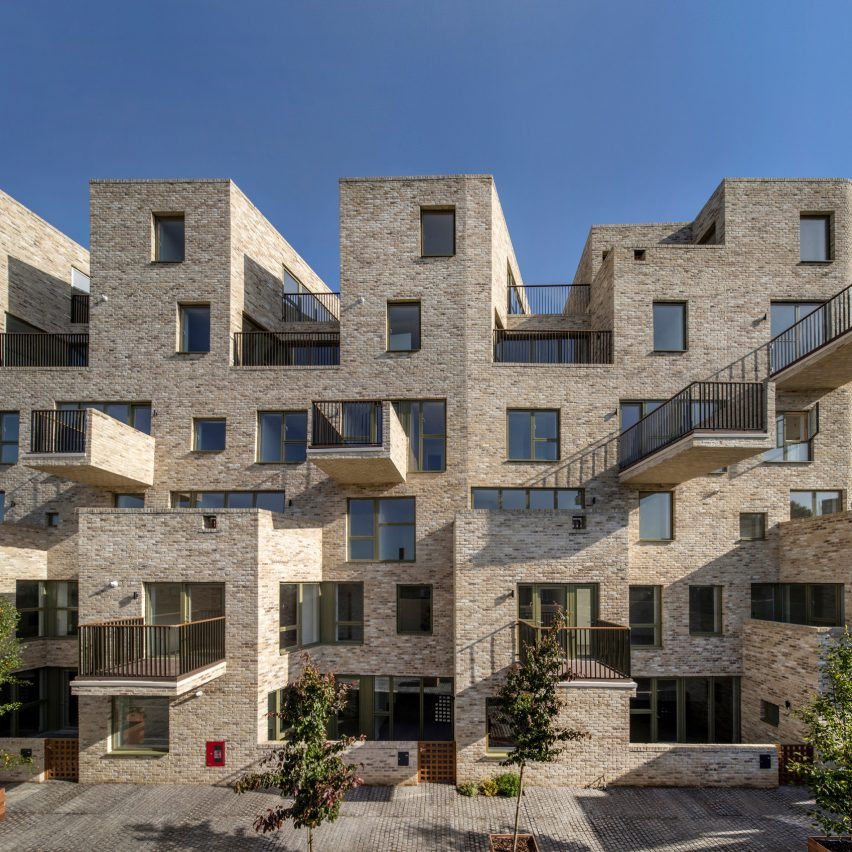 Top 10 British architecture projects of 2020: 95 Peckham Road by Peter Barber Architects