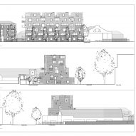 95 Peckham Road housing by Peter Barber Architects