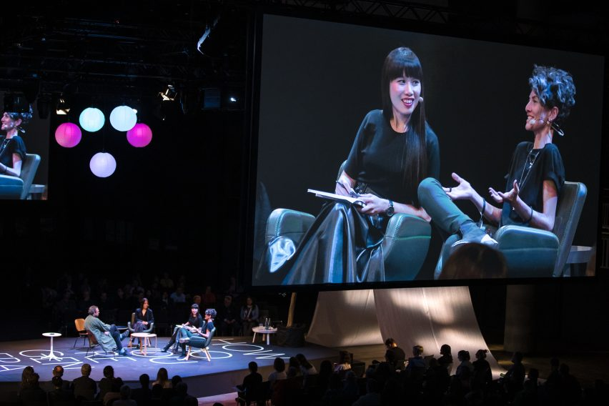 Yoko Choy and Beatrice Leanza in conversation at reSITE