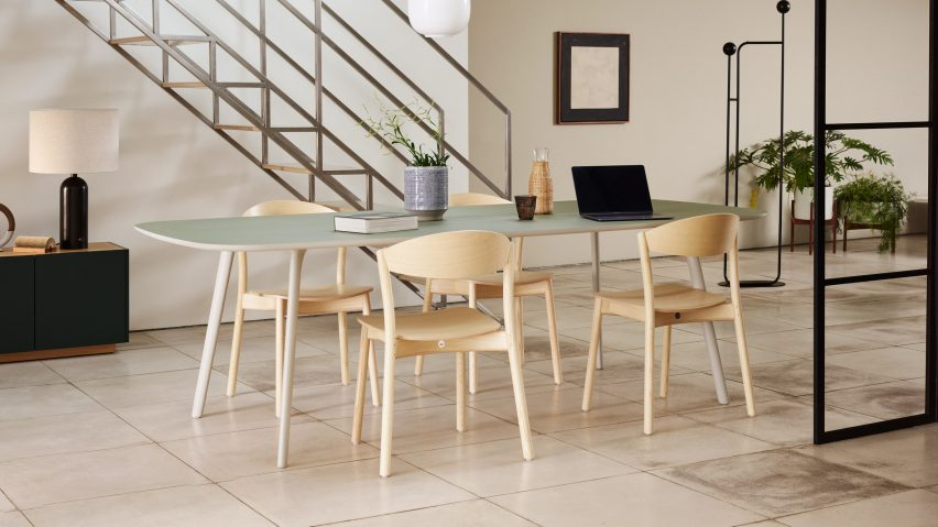 March Lite chair by Sir Kenneth Grange and SmithMatthias for Modus