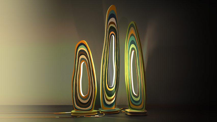 Landscape Lamp by Margaux de Penfentenyo