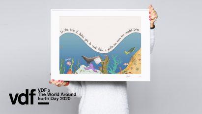 Mona Chalabi Earth Day illustration