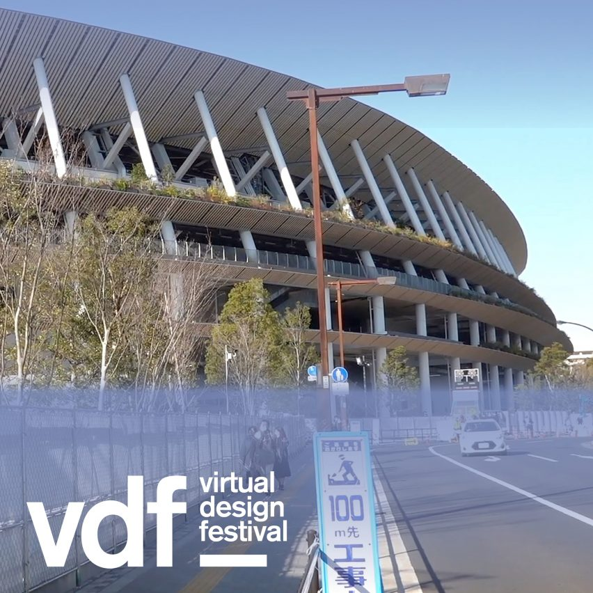 National Stadium by Kengo Kuma one minute architecture video