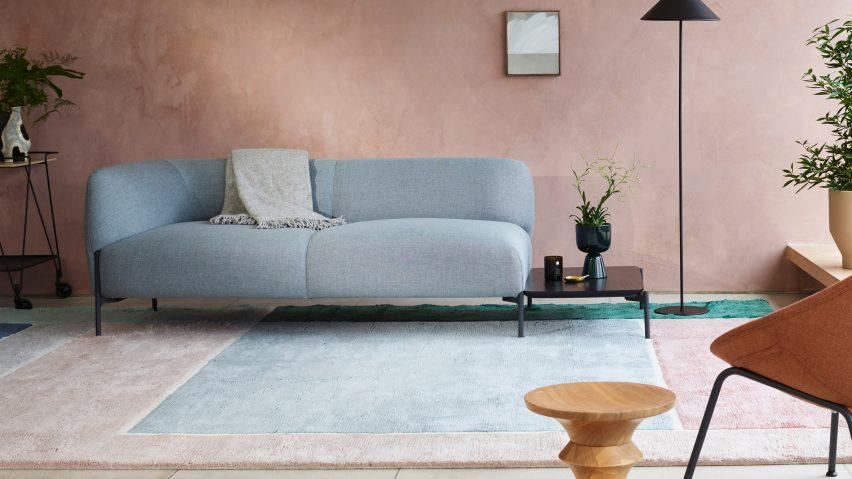 Panda sofa and armchair by Monica Förster for Modus