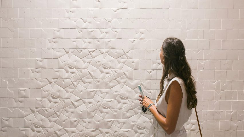 Squar tile collection by Giovanni Barbieri