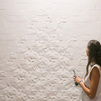 Squar tile collection by Giovanni Barbieri