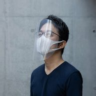 Tokujin Yoshioka shares three-step template for emergency face shields