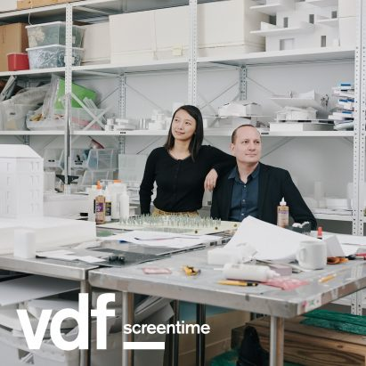 Florian Idenburg and Jing Liu of architecture practice SO-IL and MAAT executive director Beatrice Leanza speaks to Dezeen live as part of Virtual Design Festival's collaboration with MAAT