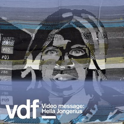 Hella Jongerius video message for Dezeen Virtual Design Festival