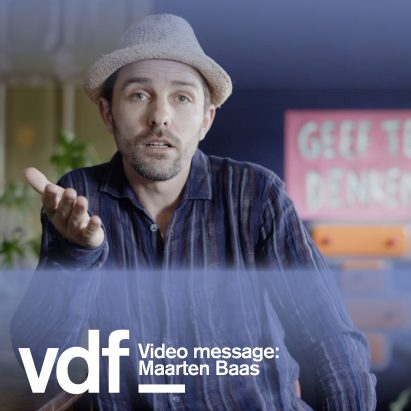 Maarten Baas video message for Dezeen Virtual Design Festival