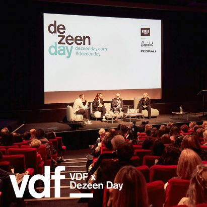 Dezeen Day conference at VDF