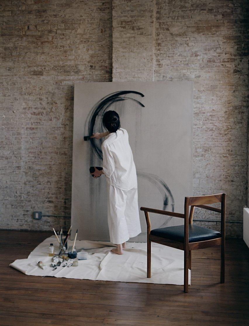A Painter's Room by Bowen Liu Studio
