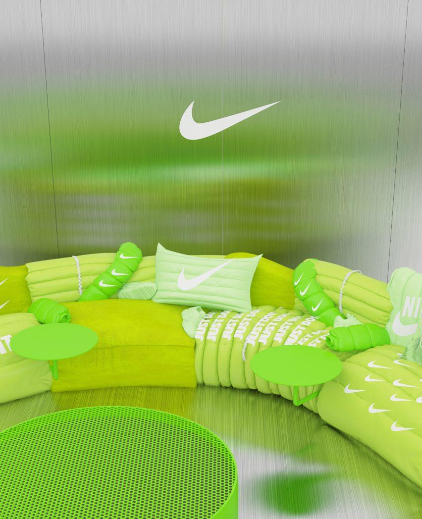 Air Max Day Sofa by Crosby Studios