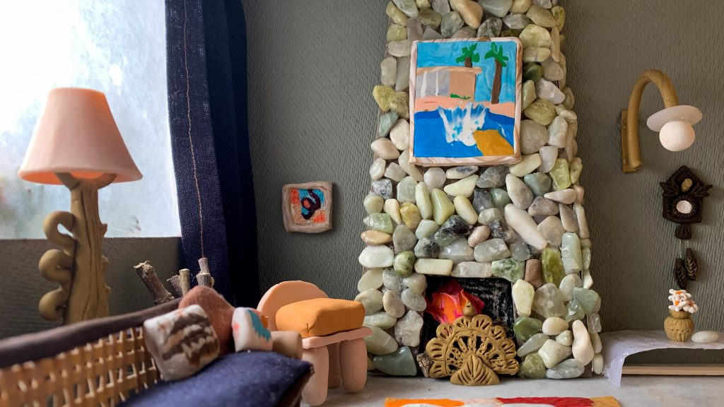 10 miniature clay homes created in self-isolation