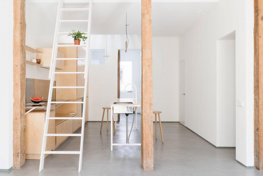 Apartment in Lavapiés by Leticia Saá