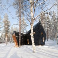 Toni Yli-Suvanto Architects creates angular Arctic Sauna Pavilion