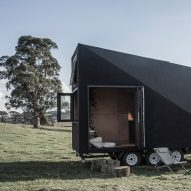Studio Edwards designs minimal house on wheels Base Cabin
