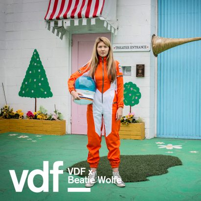 Beatie Wolfe is the subject of documentary Orange Juice for the Ears: from Space Beams to Anti-Streams