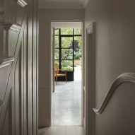 Burnt House by Will Gamble Architects and Smith & Butler hallway