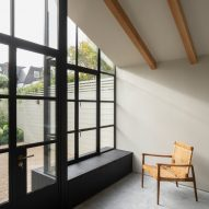 Burnt House by Will Gamble Architects and Smith & Butler window seat