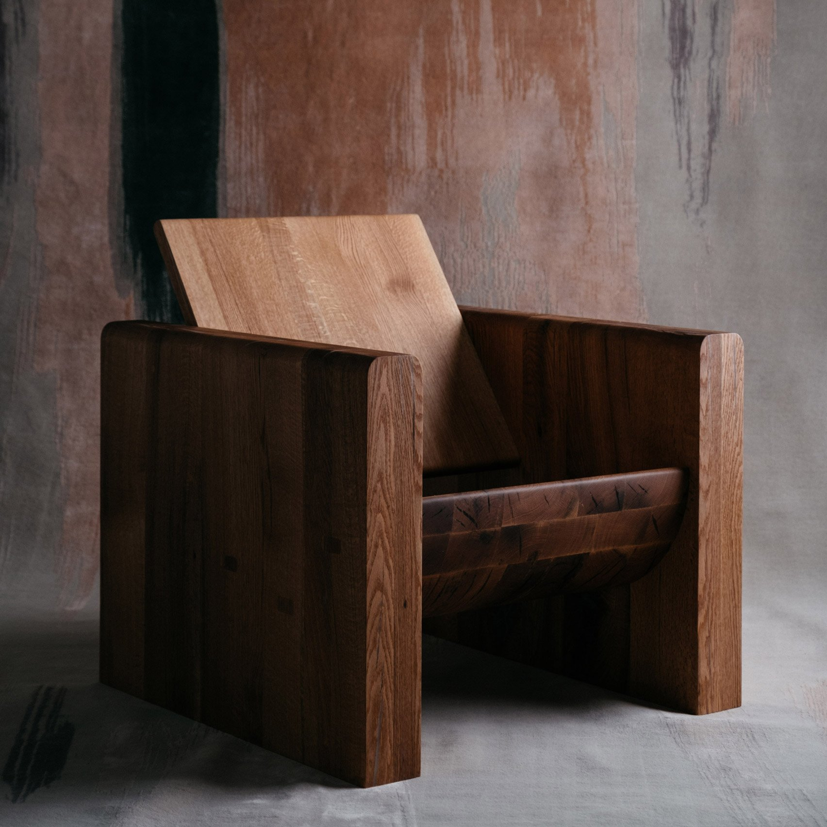 Odami creates a furniture collection from one dying tree