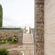 Cemetery Castel San Gimignano by Microscape