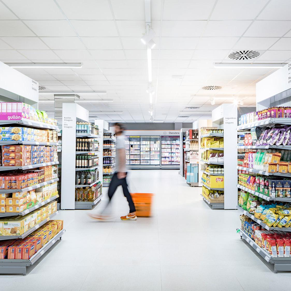 Culdesac designs coherent interiors for Consum supermarket in Benicàssim